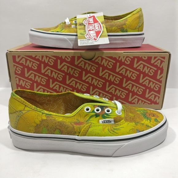 49053639bf73 Vans Vincent Van Gogh Sunflowers Sneakers